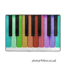 naanle piano keys non slip area rug for living dinning room bedroom kitchen 60 x