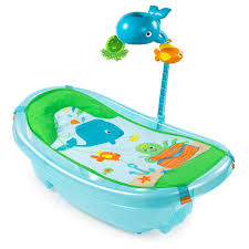 summer infant ocean buds newborn to toddler baby tub with toy