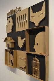 Cardboard Art Wall Decor