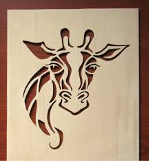 printable scroll saw patterns for beginners. giraffe scroll saw project. pattern printable patterns for beginners a