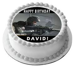 CALL OF DUTY 1 Edible Cake and Cupcake Toppers – Edible Prints