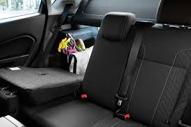 2018 ford fiesta hatchback rear row seat folded