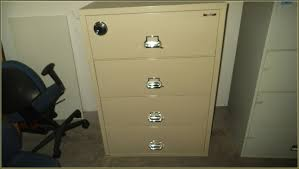 office furniture ideas awesome fireproof file cabinet in beige with four drawers and silver handle plus combination lock for attractive office furniture ideas 2