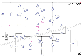 circuit diagram of class a amplifier ireleast info class ab transistor power amplifier circuit diagram electronic wiring circuit