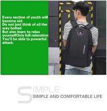 Swiss <b>Waterproof Nylon</b> Backpack Unisex Men's Laptop phone ...