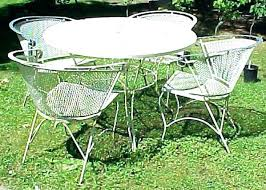 white iron garden furniture. Antique Outdoor Furniture Great Vintage Metal Style Retro White Iron Garden T