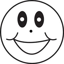 Disegno Di Emoticon Sorriso Da Colorare Per Bambini Con Disegni