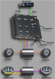 amplifier and crossover wiring diagram wire center \u2022 Car Audio Speaker Wiring Diagram car audio crossover wiring library of wiring diagram u2022 rh diagramproduct today bridging 4 channel amp