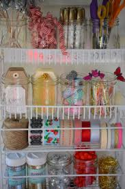 gift wrapping essentials organized