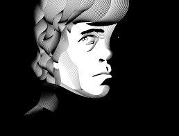 Line Art Portraits By Victor Van Gaasbeek