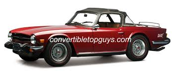 1969 76 triumph tr6 convertible tops