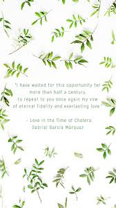 Books Quotes Love In The Time Of Cholera Kbooklover Living