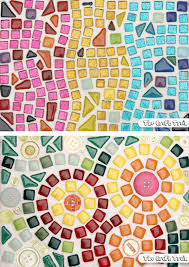 mosaic art for beginners the craft train