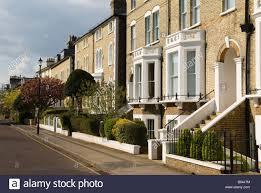 Wimbledon Village Housing South West London Sw19 London Uk Stock