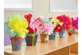 Paper Mache Flower Colorations Decorate Your Own Paper Mache Flowerpots Set Of 12