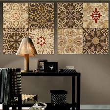 2015 middle east nation retro decorative pattern canvas wall art