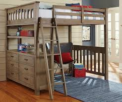Photo 5 of 5 Bunk Beds With Desks Under Them With Queen Bed Desk And Metal  Full Size Bunk Bed