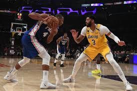 Jadwal pada hari ini tidak tersedia. Davis Scores 37 As Lakers Smash 76ers Reuters