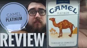 Camel Ultra Lights Camel Platinum Ultralight Review