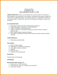 Machinist Resume Template cnc machinist resume template foodcityme 58