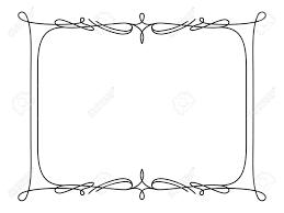 simple frame design.  Frame Rectangle Frame Simple Frame Ornament Decorative Design Element In Retro  Style Certificate Or On Simple Frame Design E