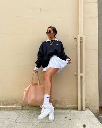 Find the perfect white pleated or plaid tennis. Get The Skirt For 32 At Nike Com Wheretoget Tennis Skirt Outfit Fashion Inspo Outfits Cute Casual Outfits