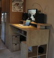 Wonderful Ikea Standing Desk Galant Innovative Stand Up Desks On Inspiration Decorating