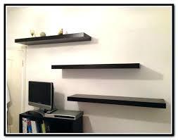 ikea white lack shelf wall mounted shelves floating concealed mounting black view larger storage shelving unit