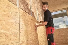 Dazwischen kommt meist eine zellulosefüllung. Schneller Beplanken Mit Osb Und Spanplatten Im Innenausbau Ausbaupraxis
