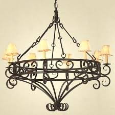 wrought iron chandeliers rustic rustic chandeliers wrought iron inside wrought iron