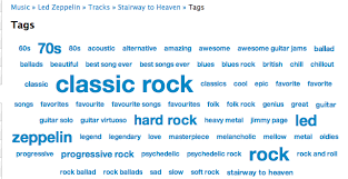 Last Fm Genre Pie Chart Led Zeppelin Search Results Music Machinery