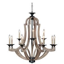winton weathered pine and bronze light chandelier rustic chandeliers with crystals lighting iron elegant crystal urban classic modern dining room industrial