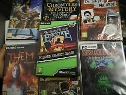 This is a special full of exclusive extras you won't find in the standard. Hidden Object Pc Games For Sale Ebay