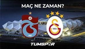 Trabzonspor Galatasaray maçı ne zaman hangi kanalda saat kaçta? TS GS maçı  muhtemel 11'leri! - Tüm Spor Haber