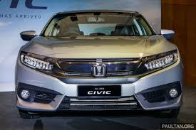 new car launch in malaysia 2016Indiabound 2016 Honda Civic front launched in Malaysia