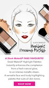 sleek makeup flagship range highlight mall 16554