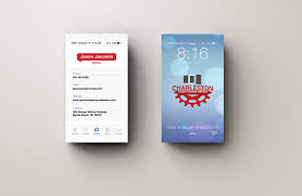 Design Iphone Ios7 Style Business Card For 12 Seoclerks