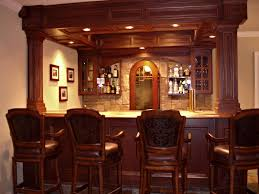 back bar lighting. Interior, Best Home Bar Design Teak Varnished Back Stools Mahogany Wide Lighting ,