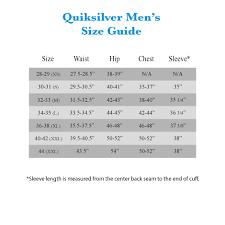 Quiksilver Hat Size Chart 17 Thorough Quiksilver Size Chart Women