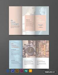 Free Brochure Layouts Free Blank Brochure Template Word Psd Indesign Apple
