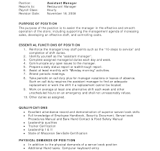 How To Make A Resume For A Restaurant Job How To Write Resume For Restaurant Job Create Make With 76