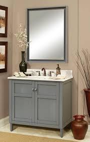gray bathroom vanity. Going Gray. Harper 36\ Gray Bathroom Vanity Y