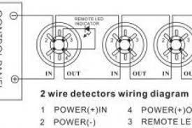 2wire smoke detector wiring diagram 2 wire smoke detector wiring hard wire smoke detector keeps going off at Wiring A Smoke Detector Diagram
