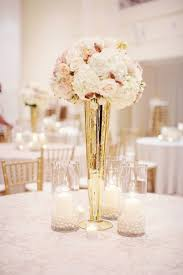 gold plastic flower vases plastic trumpet vase tall