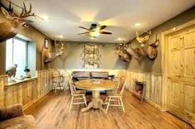 O Rustic Basement Ideas Wall