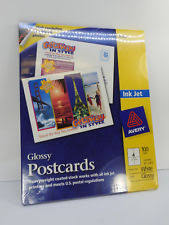 Avery 8383 Avery 8383 Ink Jet Glossy Postcards 100 Count