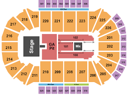 Luke Combs Seating Chart Luke Combs Tickets At Resch Center Thu Apr 25 2019 7 00 Pm