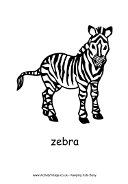 Small Picture African Animal Colouring Pages