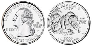 State Quarter Value Chart 2008 P Alaska State Quarter Coin Value Prices Photos Info