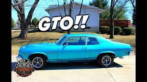 Review: 1974 Pontiac GTO Ventura automatic transmission - YouTube